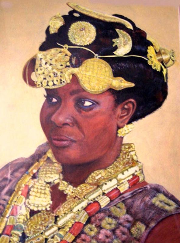 African Princess Half size