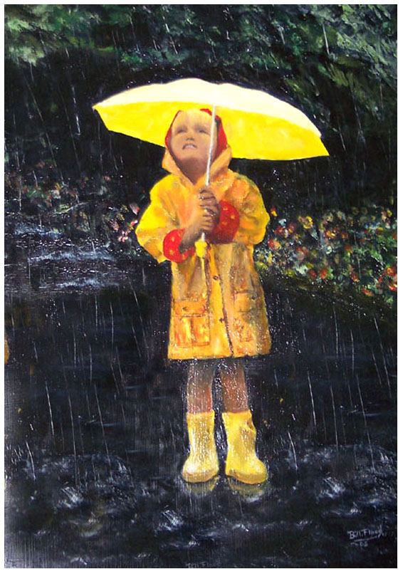 BILL'S YELLOW UMBRELLA - Cleaned Up With Border
